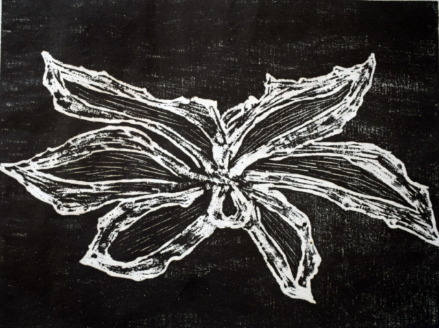 Flower 24 X 18 cm
