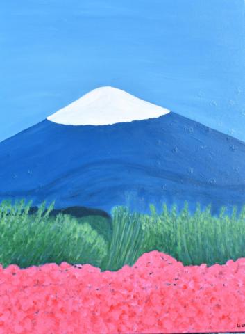 Fuji 73 x 92 cm