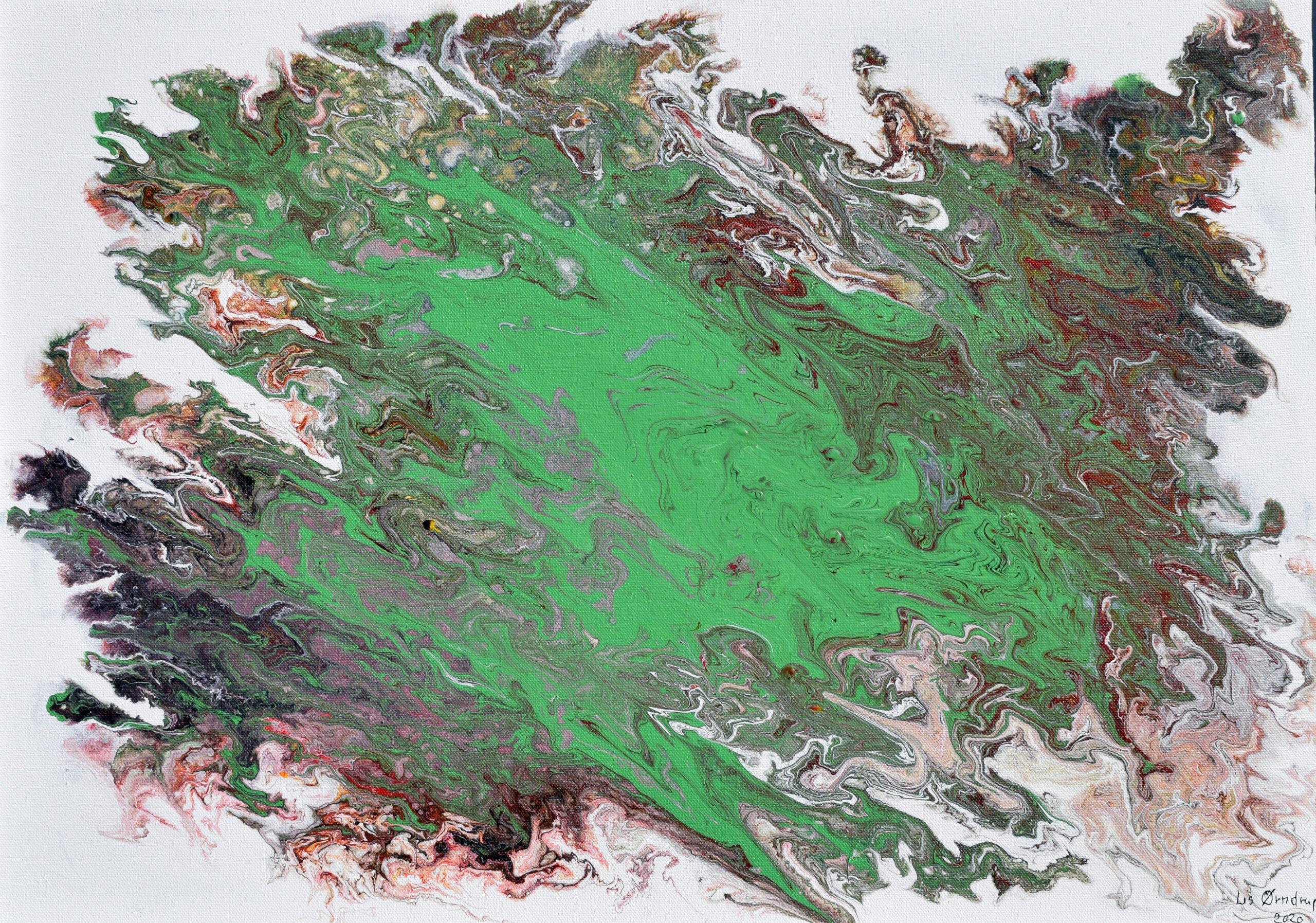 Green Fantasy 50 X 70 cm