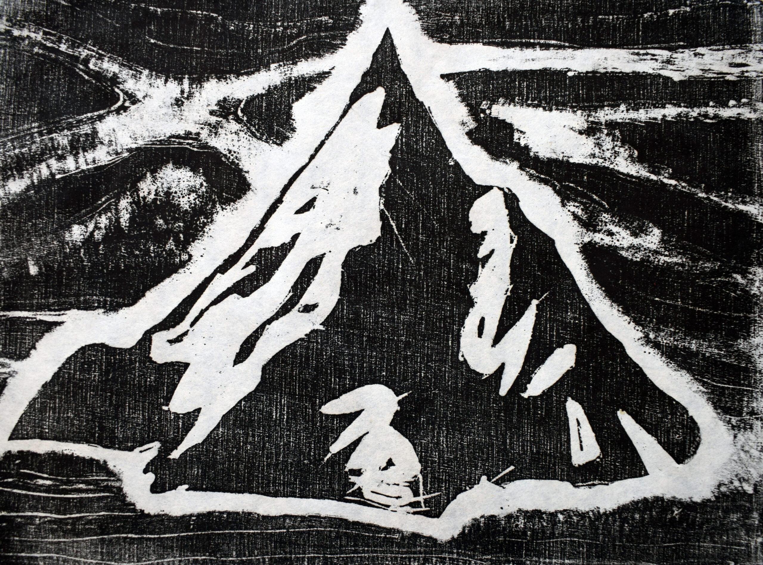 Mountaintop 24 x 18 cm