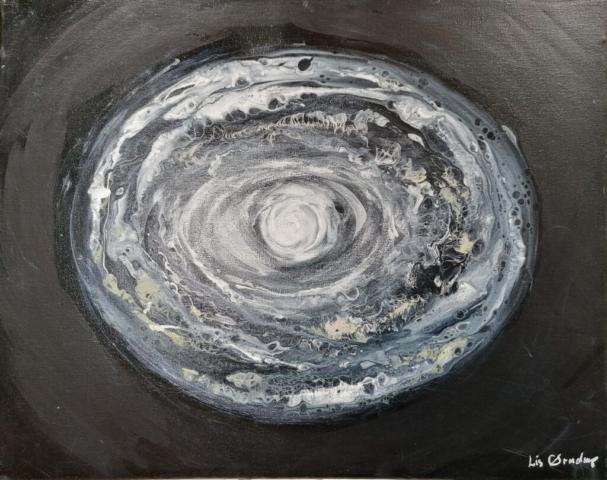 Galaxy, 50 x 40 cm