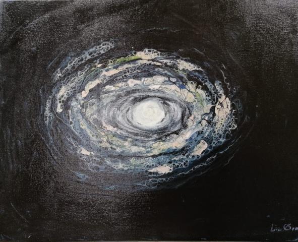Galaxy II, 50 x 40 cm